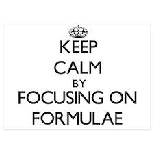 Keep Calm by focusing on Formulae Invitations