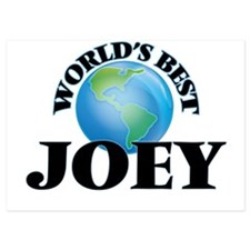 World's Best Joey Invitations