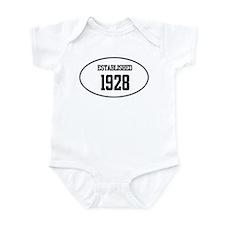 Established 1928 Infant Bodysuit