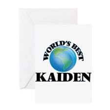 World's Best Kaiden Greeting Cards