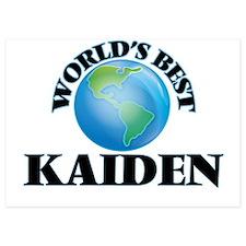 World's Best Kaiden Invitations