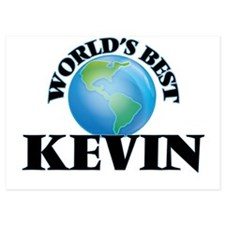 World's Best Kevin Invitations