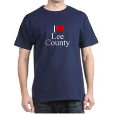 """I Love Lee County"" T-Shirt"