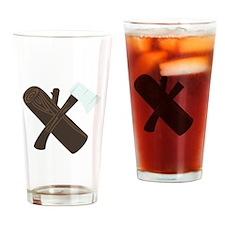 Ax Wood Drinking Glass