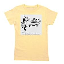 Boat Cartoon 3841 Girl's Tee
