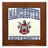 MANCHESTER University Framed Tile