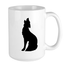 Howling Wolf Icon Large Mug