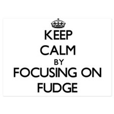 Keep Calm by focusing on Fudge Invitations