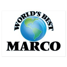 World's Best Marco Invitations