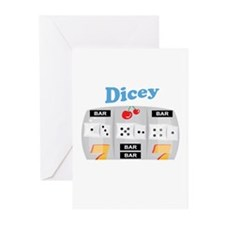 Dicey Greeting Cards
