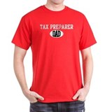Tax Preparer dad (dark) T-Shirt