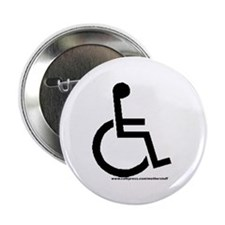 "Handicapped Symbol 2.25"" Button (100 pack)"