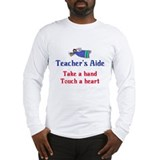 Teacher's Aide Long Sleeve T-Shirt