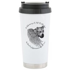 Cute Bully breed Travel Mug