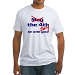 Get 'The Force of July' Fitted T-Shirt
