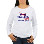 Get 'The Force of July' Women's Long Sleeve T-Shir