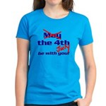 Get 'The Force of July' Women's Dark T-Shirt