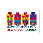 Grandma's Garden Mini Poster Print