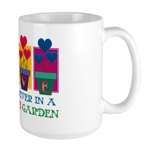 Grandma's Garden Large Mug