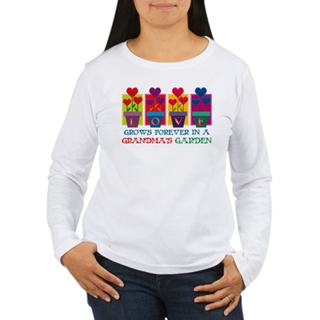 Grandma's Garden Women's Long Sleeve T-Shirt
