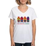 Grandma's Garden Women's V-Neck T-Shirt