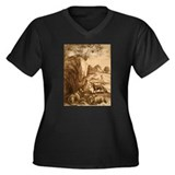 H. P. Lovecraft Portrait Organic Cotton Tee
