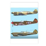 Cute Airplane flight Postcards (Package of 8)