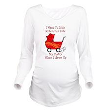 Cute Daddy's Long Sleeve Maternity T-Shirt