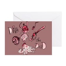 Diva of the Dead: Greeting Cards (Pk of 10)
