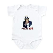 Uncle Sam Wants you Infant Bodysuit