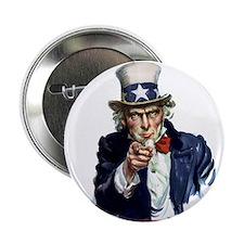 Uncle Sam Wants you Button