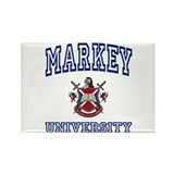 MARKEY University Rectangle Magnet