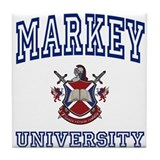 MARKEY University Tile Coaster