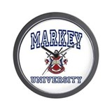 MARKEY University Wall Clock