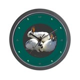 Bunny Trio Wall Clock