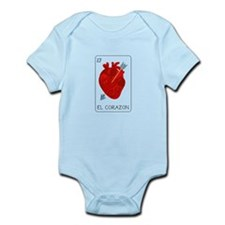 El Corazon Loteria Card Body Suit