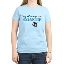 My heart belongs to a Coastie T-Shirt