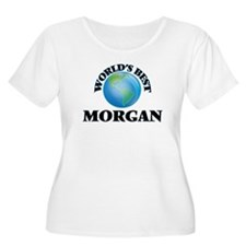 World's Best Morgan Plus Size T-Shirt