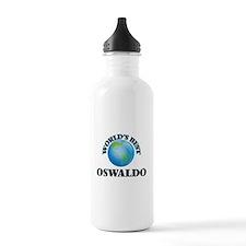 World's Best Oswaldo Water Bottle