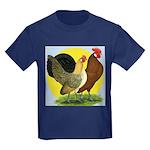 Red Quill Chickens Kids Dark T-Shirt