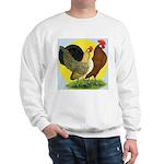 Red Quill Chickens Sweatshirt