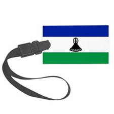 Lesotho Flag Luggage Tag