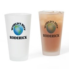 World's Best Roderick Drinking Glass