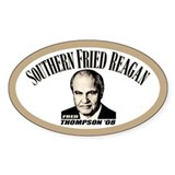 Southern Fried Reagan Oval Decal