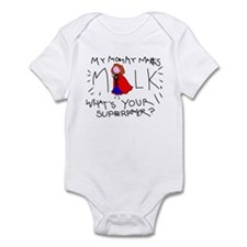 CURLY RED HEAD Infant Bodysuit