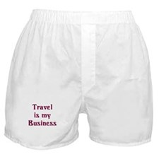 Travel Agent Boxer Shorts