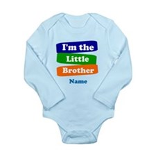 I'm the big little bro Long Sleeve Infant Bodysuit