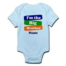 I'm the big little brother persona Infant Bodysuit