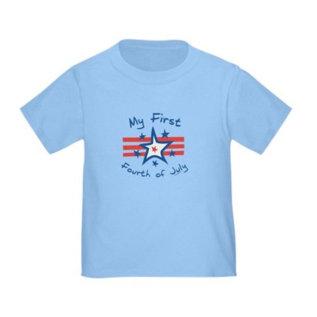 My First Fourth Toddler T-Shirt