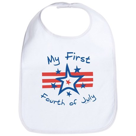 My First Fourth Bib